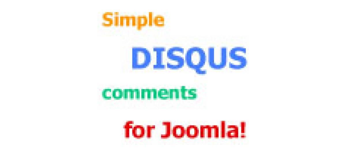 Simple Disqus Comments, by Alin Marcu - Joomla Extension