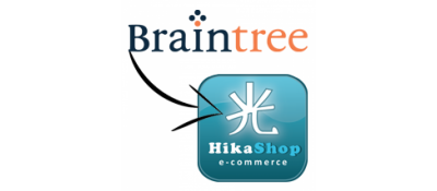 BrainTree Payment Gateway for HikaShop