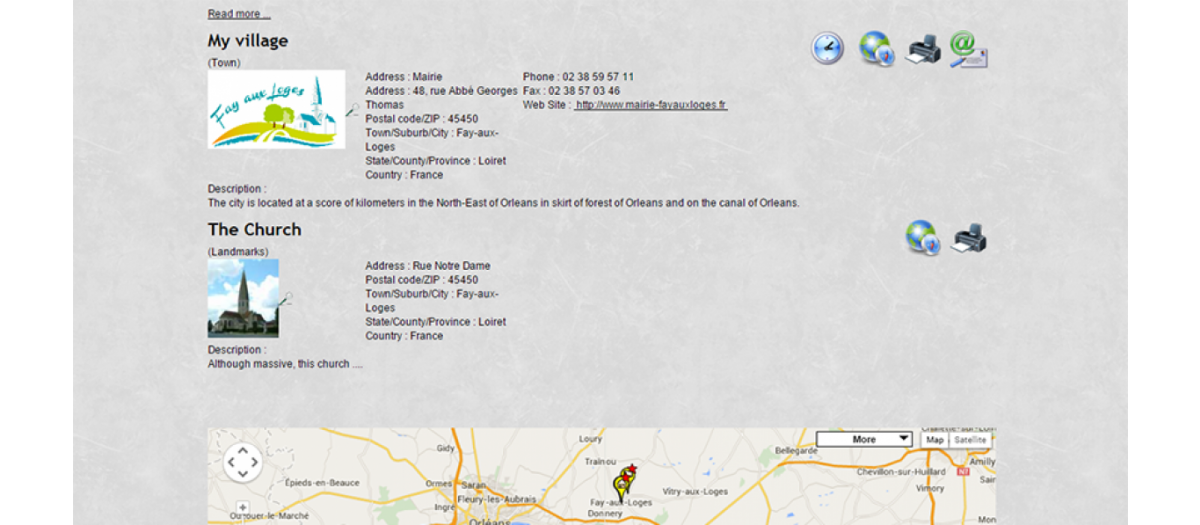 GMapFP : Google Map, by Fabrice4821 - Joomla Extension Directory