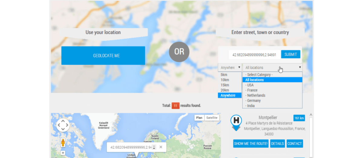 My Maps location, by JoomUnited - Joomla Extension Directory