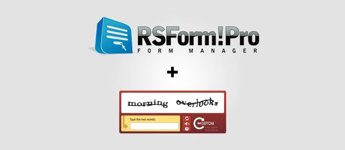reCAPTCHA for RSForm! Pro, by RSJoomla! - Joomla Extension Directory