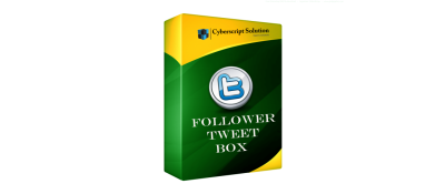 Follower Tweet Box