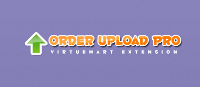 Order Upload Pro for Virtuemart