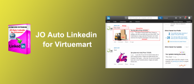 JO Auto Linkedin for Virtuemart