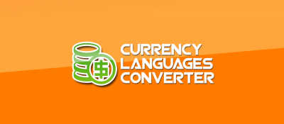 Currency Languages Converter for Virtuemart
