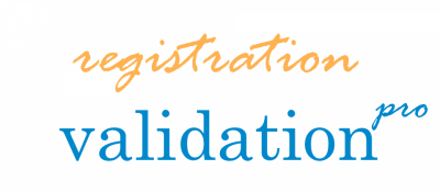Registration Validation Pro
