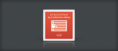 AP Bootstrap Accordion Menu