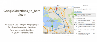 To Here for googleDirections