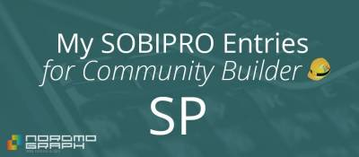 My SobiPro entries for Community Builder