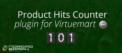 Product Hits Counter for Virtuemart