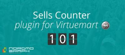 Sells Counter for Virtuemart Products