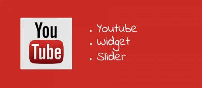 Youtube Widget Slider