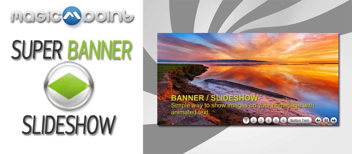 Super Banner Slideshow, by Magic Point - Joomla Extension