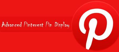 Advanced Pinterest Pin Display