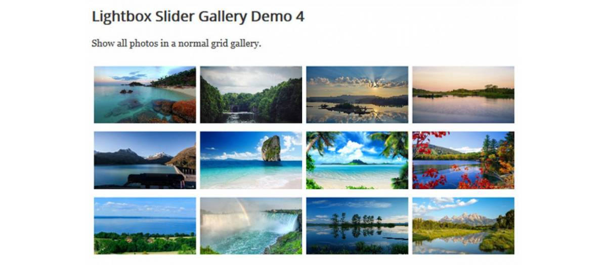 Lightbox Slider Gallery, by http://www joompolitan com