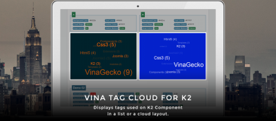 Vina Tag Cloud for K2