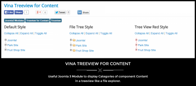 Vina Treeview for Content
