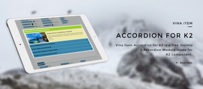 Vina Item Accordion for K2