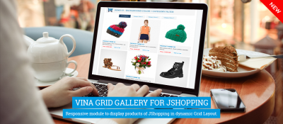 Vina Grid Gallery for JShopping