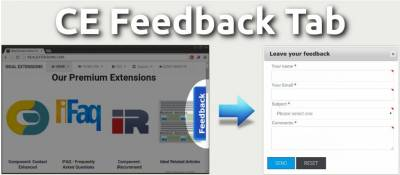 Feedback Site Tab for Contact Enhanced