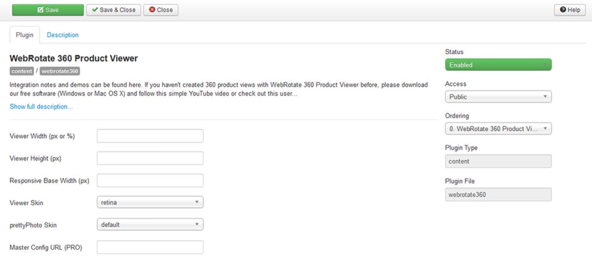 WebRotate 360 Product Viewer, by WebRotate 360 LLC - Joomla