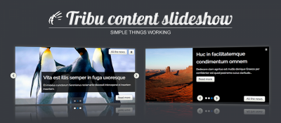 Tribu Content Slideshow
