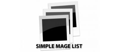 Simple Image List