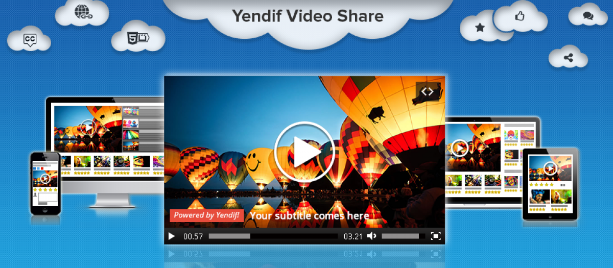 Yendif Video Share, by Yendif Technologies - Joomla