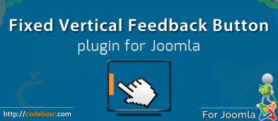 Fixed Vertical Feedback button