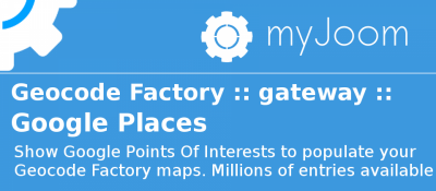 Geocode Factory 5 gateway for Google Places