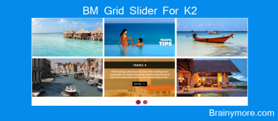 BM Gird Slider For K2