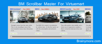 BM Scrollbar Master For Virtuemart