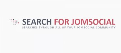 Search for JomSocial