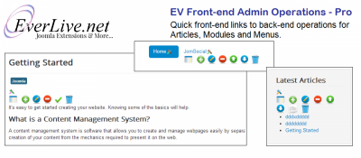 EV Front-end Admin Operations - Pro