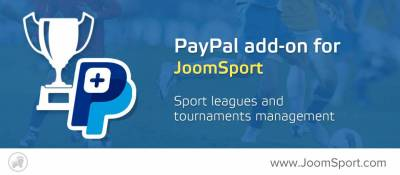 PayPal add-on for JoomSport