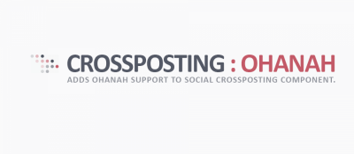 Ohanah Support for Social Crossposting