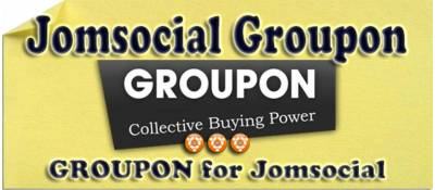 Groupon for Jomsocial