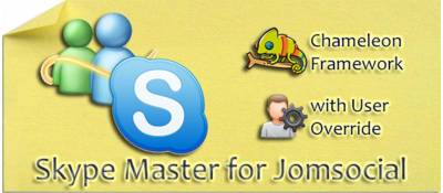Skype Master for Jomsocial