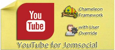 Youtube for Jomsocial