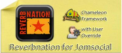 Reverbnation for Jomsocial