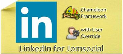 Linkedin for Jomsocial