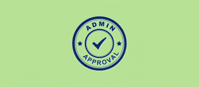 Admin Approval