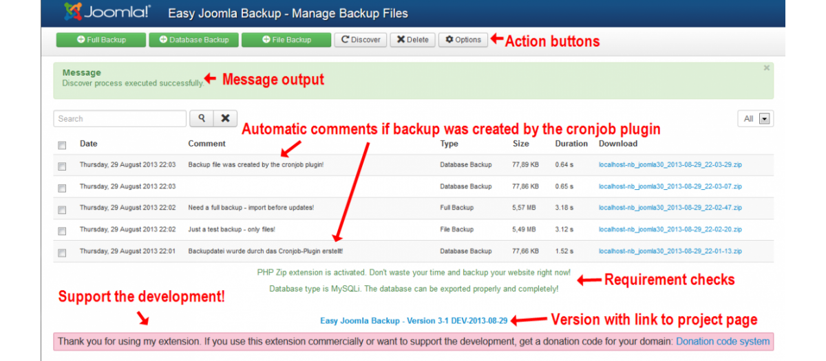 zip backup freeware