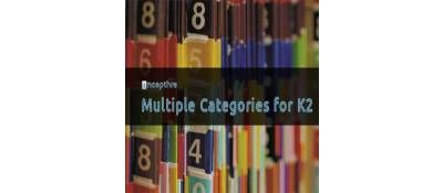 Inceptive Multiple Categories for K2