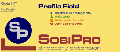 Profile Field for SobiPro