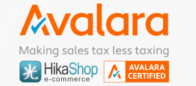 Avalara AvaTax Connector for HikaShop