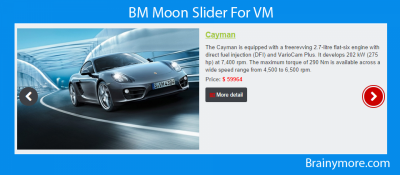 BM Moon Slider For VM