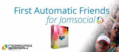 First Automatic Friends for Jomsocial