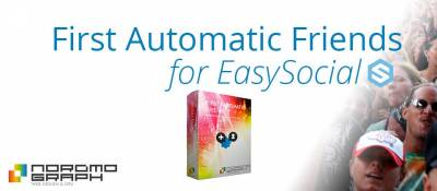 First Automatic Friends for EasySocial
