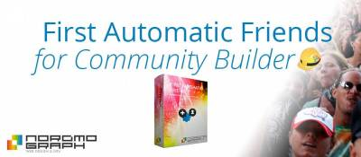 First Automatic Friends for Community Builder